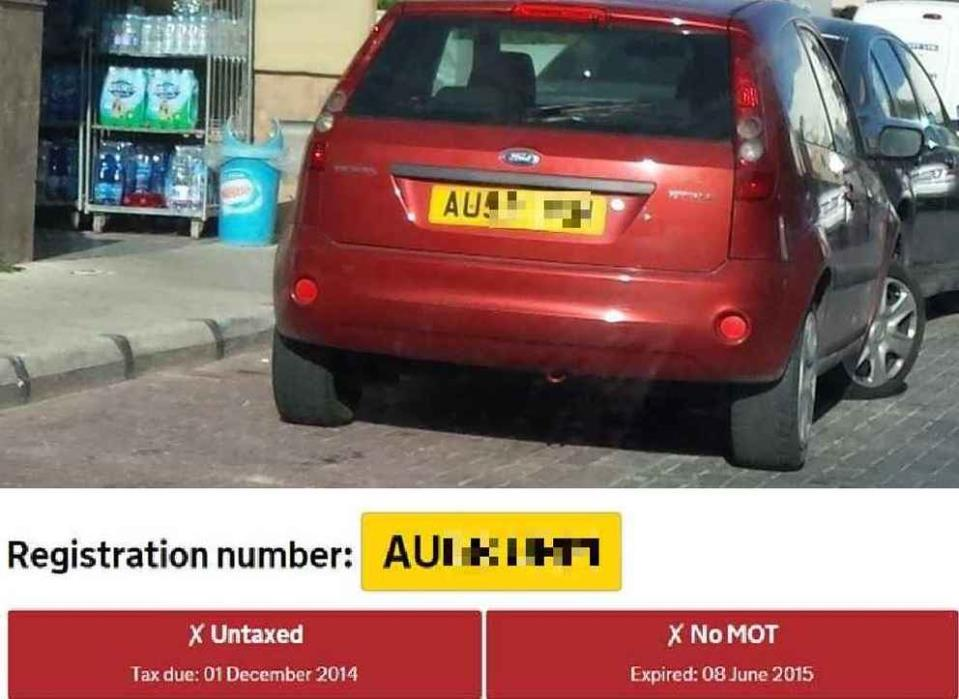 Motorists Illegally Evading Road And Registration Tax Vrt And