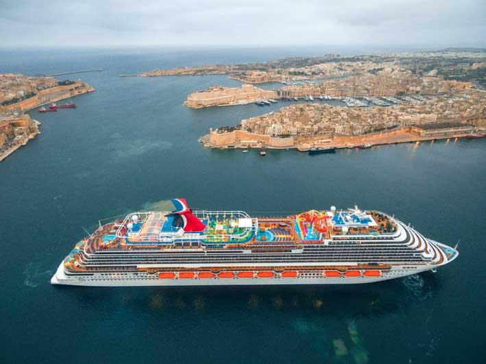 Carnival Vista Maiden Call in Valletta - The Malta Independent