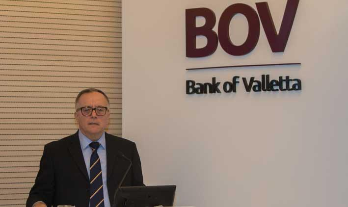Bank of Valletta reports profits of €146 million in year ending September