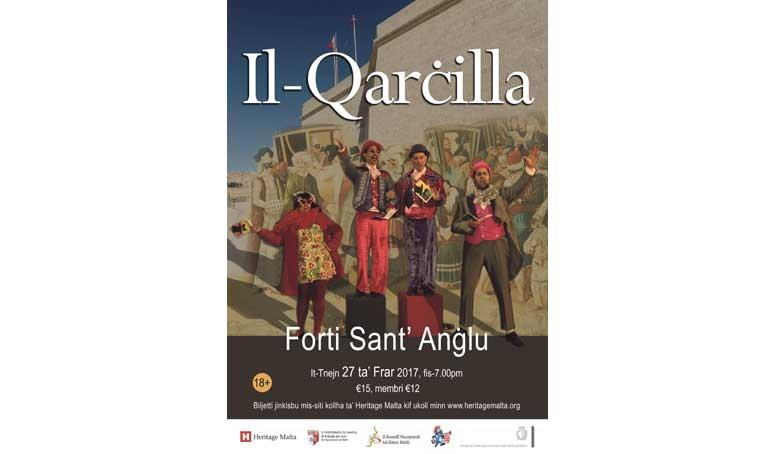 Il qar illa poetic farce and satirical innuendos at fort for Farcical satire