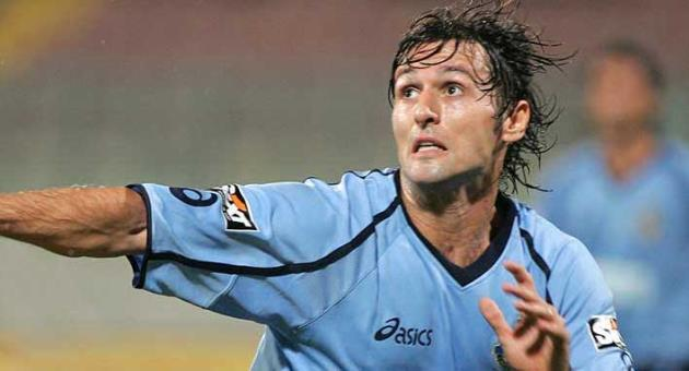 Mauro Di Lello in his playing days with the Sliema Wanderers colours. Photo: Domenic Aquilina
