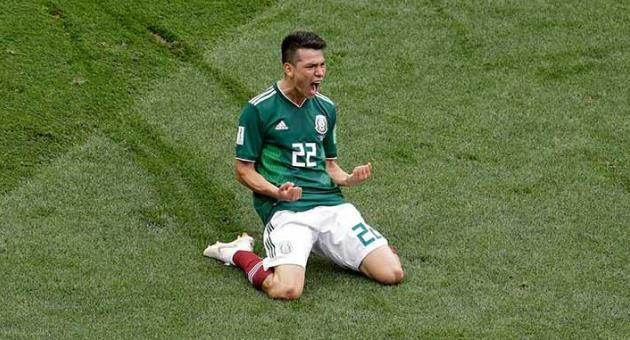 Russia 2018, Group F: Mexico upset defending champions ...