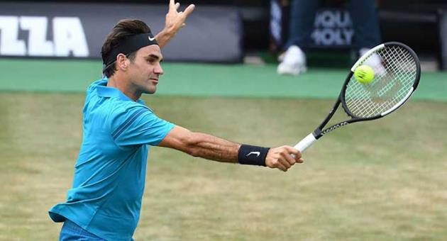 Tennis: Roger Federer edges Paire to advance in Halle - The Malta ...