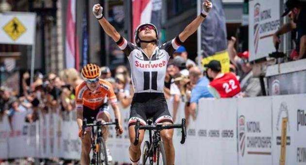 Rivera, Brown win USA Cycling road national titles - The