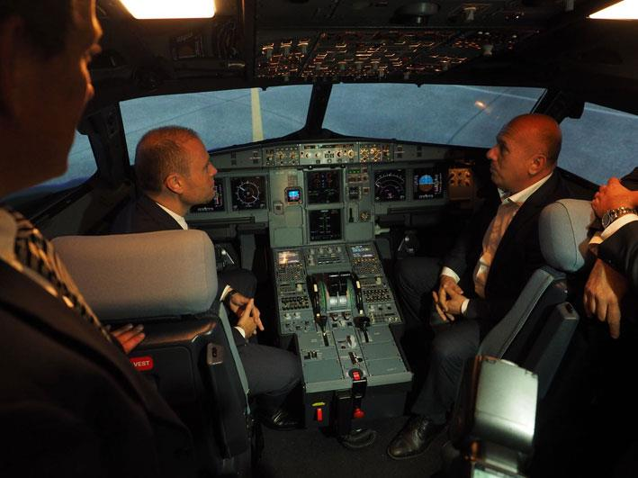 Prime Minister inaugurates Airbus A320 simulator - The Malta Independent
