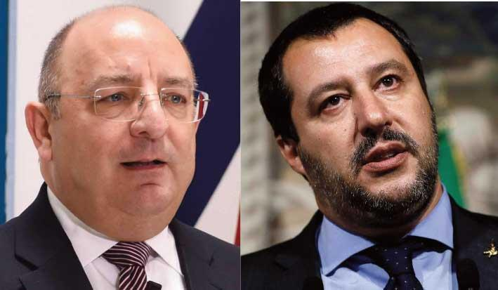 Updated: Home Minister Farrugia fires back after Salvini accuses Malta of 'hostile act'
