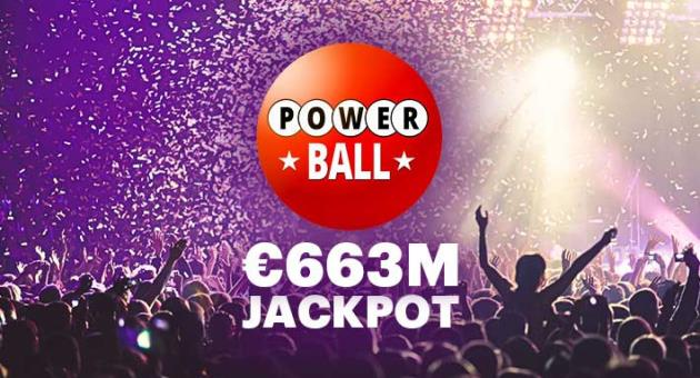 A €663 million dream - The second biggest Powerball Jackpot