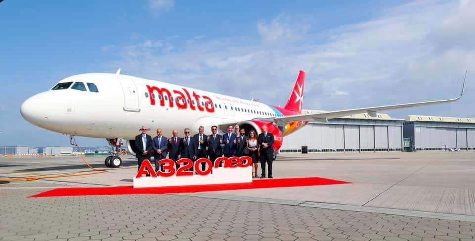 Air Malta welcomes second brand new Airbus A320neo - The