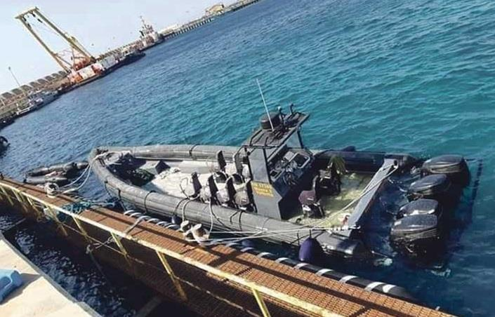 Company says 'mysterious' boat found in Libya used in oil