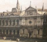 The Church of San Geminiano, St Mark's Square, Venice, demolished in 1807 during the reign of Napoleon as King of Italy