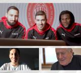 Alessio Romagnoli, Gianluigi Donnarumma and Franck Kessié surprise fans with Emirates flight tickets and an invitation to watch AC Milan play