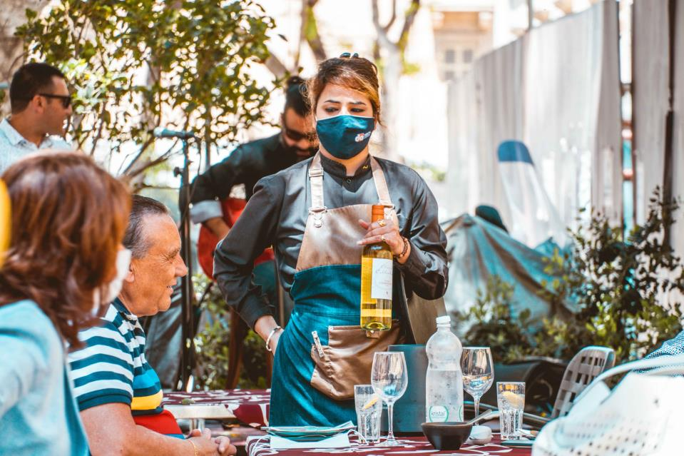 The café culture is back: Normality returns to Valletta as catering establishments reopen