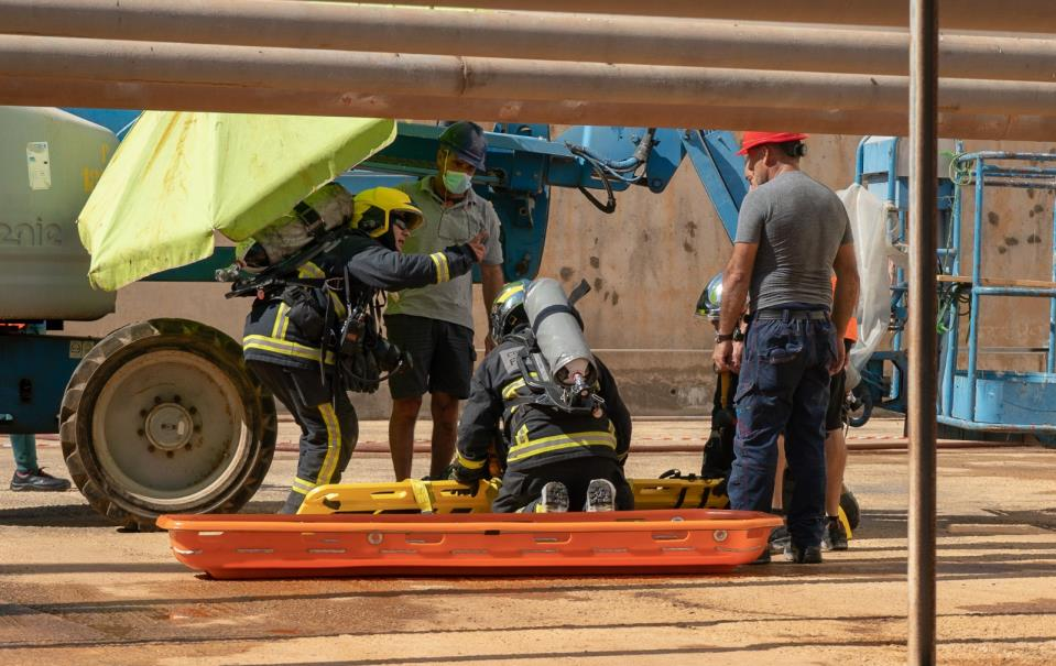 Emergency drill held at Delimara Power Station
